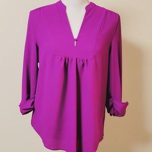 Stitch fix Brixon Ivy magenta blouse size medium
